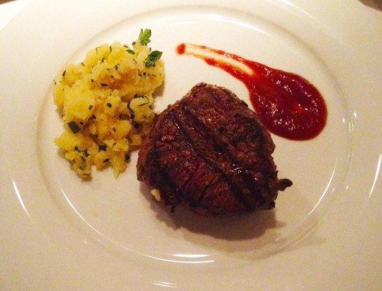 "'Grill Royal Steak Sauce - potato purée ""Andretta"""