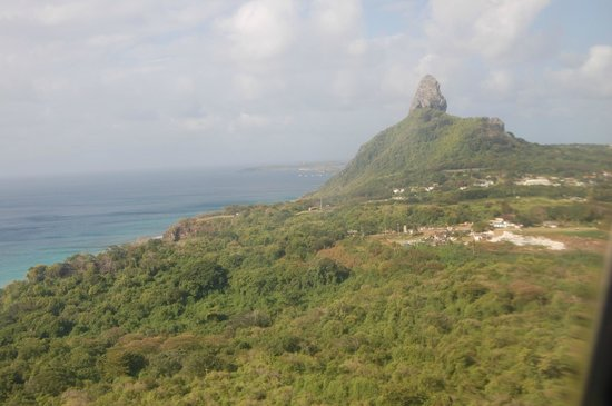 Pousada Floresta & Mar: Vista avião