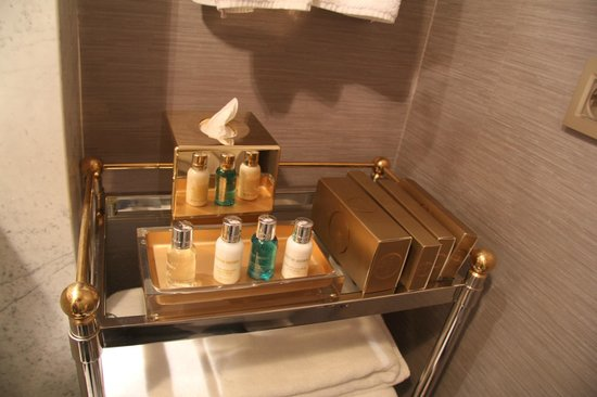 Rixos Pera Istanbul : The toiletries