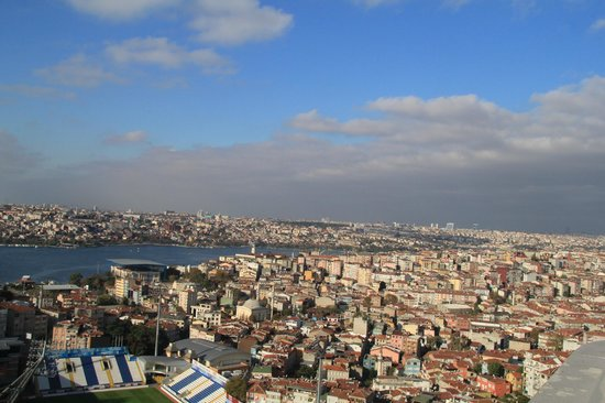 Rixos Pera Istanbul : View from the restaurant