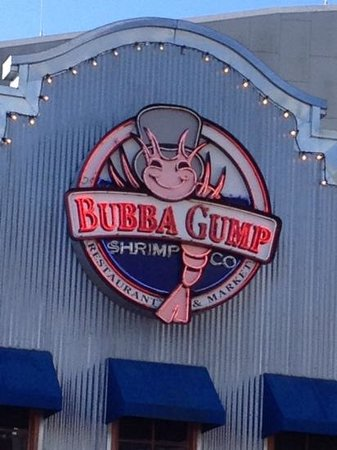 Bubba Gump Shrimp Co.: bubba gump's!