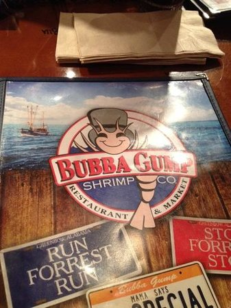 Bubba Gump Shrimp Co.: give me shrimp!