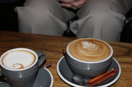 Cardrona Hotel: our coffee
