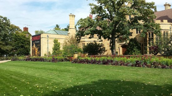 Paine Art Center And Gardens: Paine Art Center Front Yard