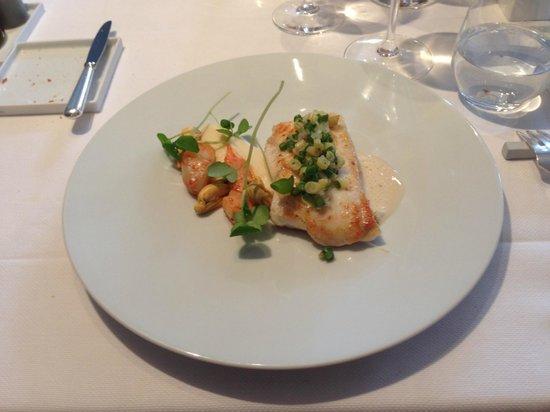 KOMMILFOO: Lunch: Hoofdgerecht Pladijs ... uitzonderlijk lekker ...