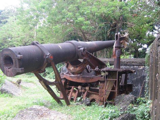 Grande Island Resort: Cannon