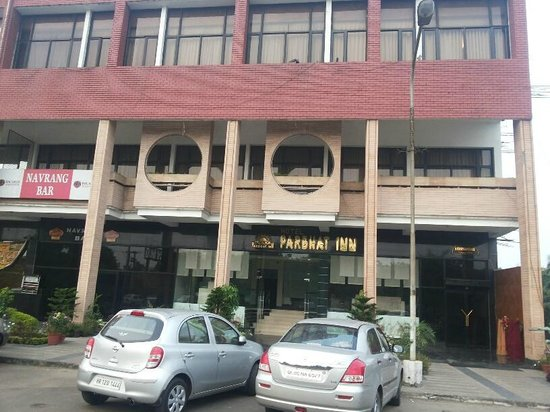 Parbhat Inn Hotel: outside view