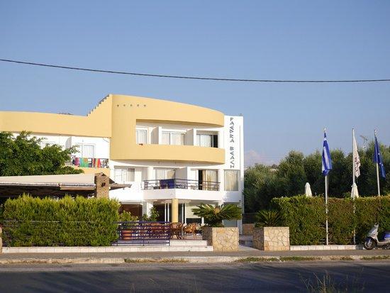 Faedra Beach Hotel : Общий вид отеля