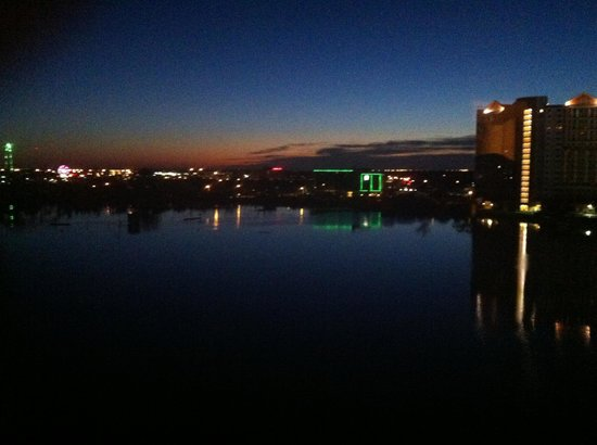 Ramada Plaza Resort and Suites Orlando International Drive : View from our suite