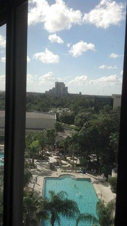 Hilton Orlando Lake Buena Vista - Disney Springs™ Area: View from room 868