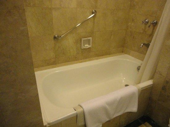 Marco Polo Davao: squeaky clean bath tub