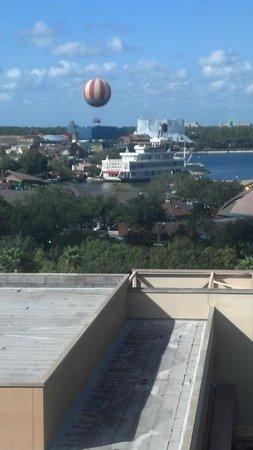 Hilton Orlando Lake Buena Vista - Disney Springs™ Area: View of Downtown Disney from the Room