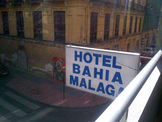 Soho Bahia Malaga : balcony view from first floor
