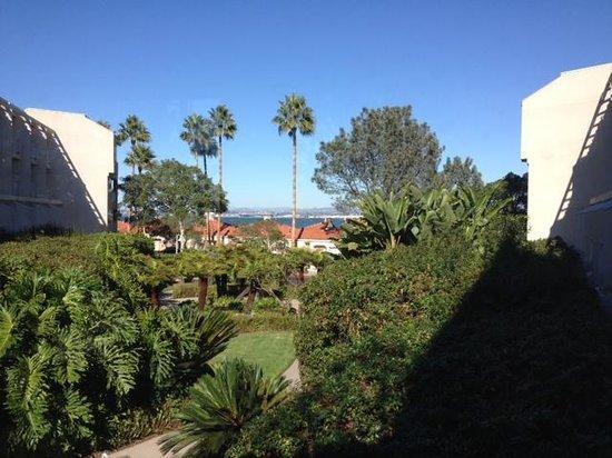 Loews Coronado Bay Resort: A view from the hallway