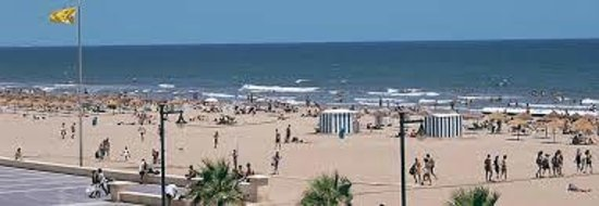 Hotel Sorolla Centro: Playa de las Arenas