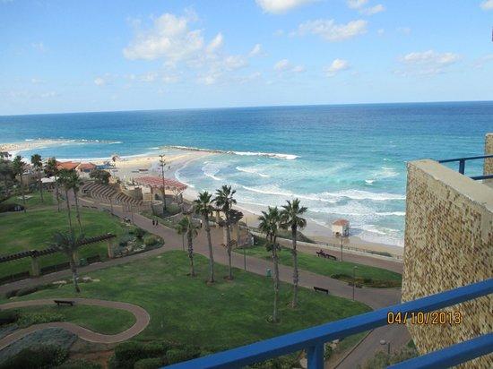 Park Hotel Netanya : Это когда ветер