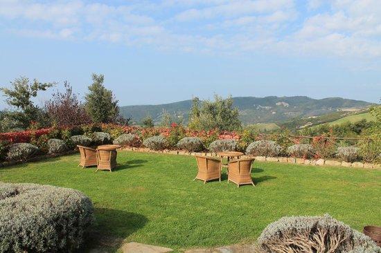 Castello di Petrata: Panorama