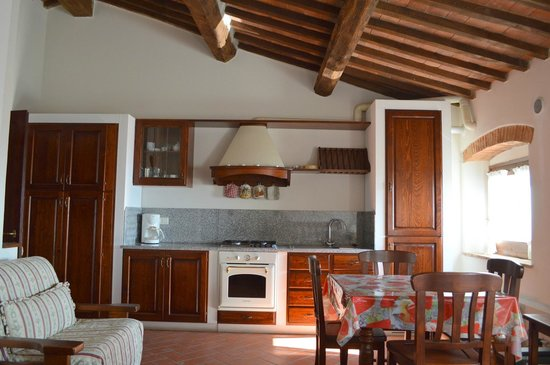 Residence Il Ciliegio: The kitchenette