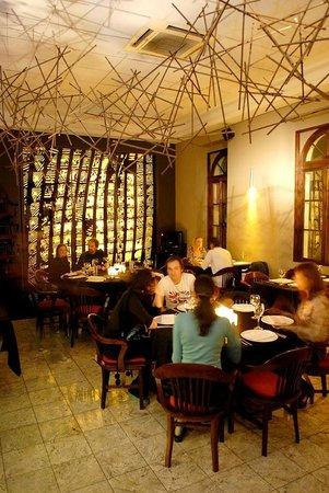 Zea Mais: O ambiente do restaurante.