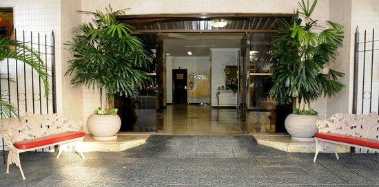 Hotel Central Parque : entrada - não sou proprietario das fotos