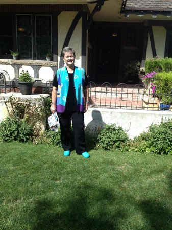 Garden House of Cedar City : Me in front of the Garden House