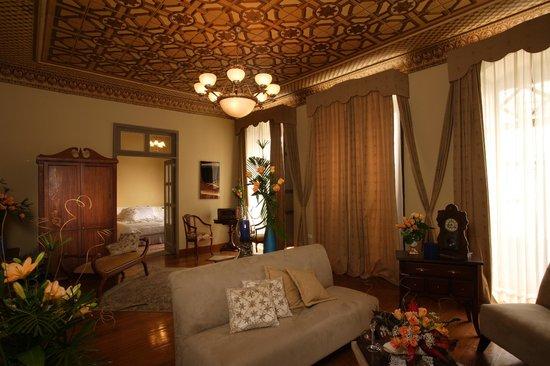 Hotel Boutique Carvallo: SALA SUITE 309