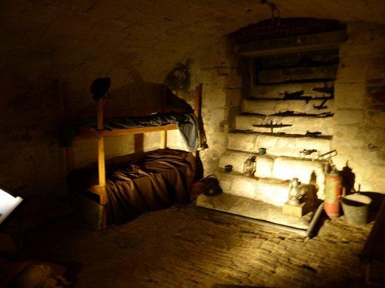 Tudor House and Garden: the air raid shelter