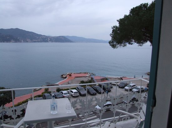 Grand Hotel Miramare: Sea view from the bedroom window