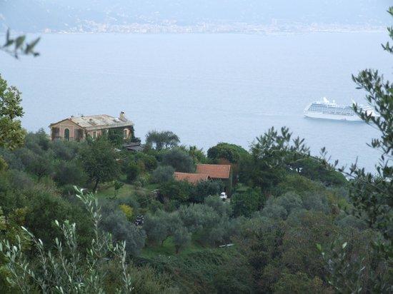 Grand Hotel Miramare: Lovely hill walks to Portofino