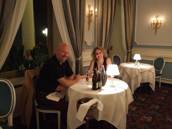 Grand Hotel Miramare: Our anniversaru dinner