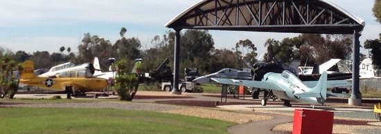 Flying Leatherneck Aviation Museum: Just a few of the aircraft on display...