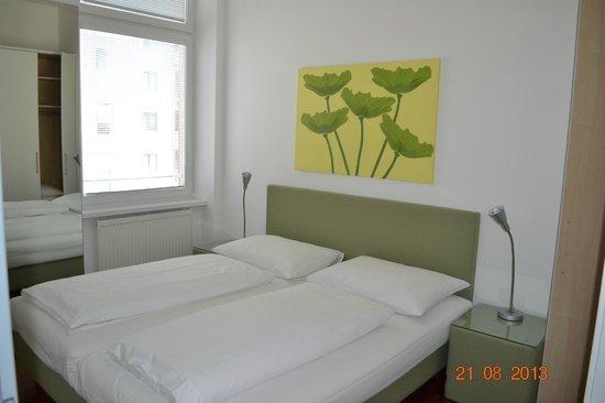 Pension Pharmador: спальня