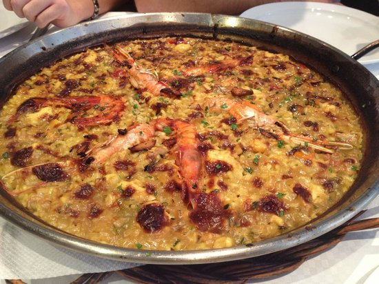 La Marinada Restaurant: Paella de marisco