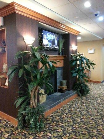 Homewood Suites by Hilton Newburgh-Stewart Airport: Lobby entrada