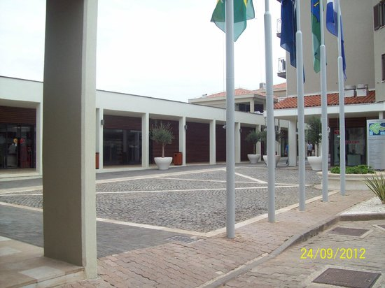 Park Plaza Histria Pula: Бизнес центр отеля.