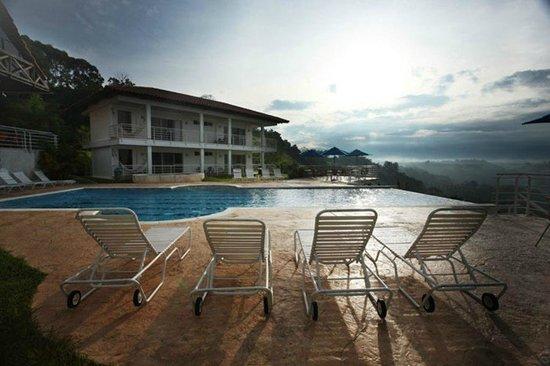 Hotel Mirador Las Palmas : Piscina sin fin