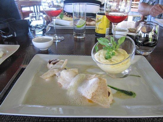 Noix de st jacques picture of the lotus restaurant faa - Cuisine noix de st jacques ...