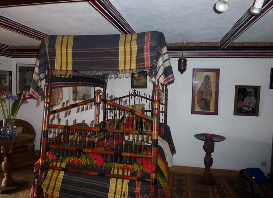 African Heritage House: Bedroom