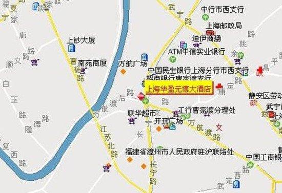 Yuanbo Hotel: Map