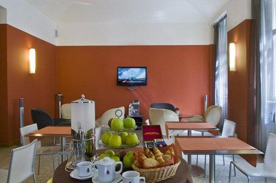 Mamaison Residence Belgicka Prague: Breakfast room