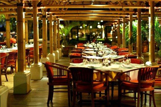 Belmond Jimbaran Puri: Nelayan Restaurant Inside