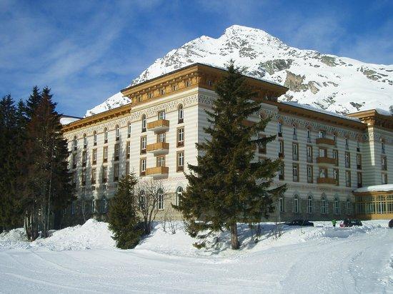 Maloja Palace Hotel: Esterno