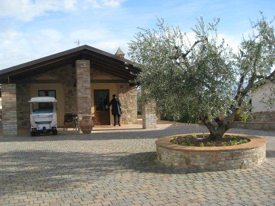 Borgobrufa SPA Resort: reception