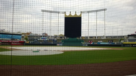 Kauffman Stadium : Huge new video board