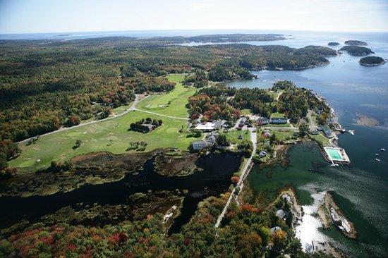 Sebasco Harbor Resort: Aerial View