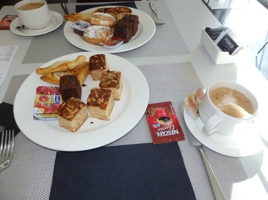 Primus Valencia : Exemple de petit déjeuner
