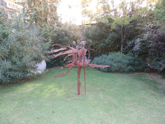 Primus Valencia: Jardin de l'hôtel - photo 2