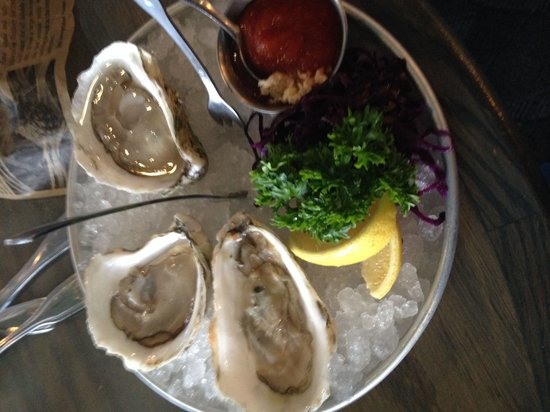 Surf: Oysters on the half