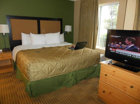 Extended Stay America - Boston - Marlborough: comfy bed
