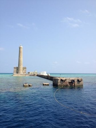 Port Sudan, Sudan: Sanganeb lighthouse